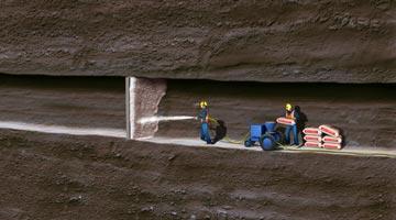 Aquacrete Consolidation